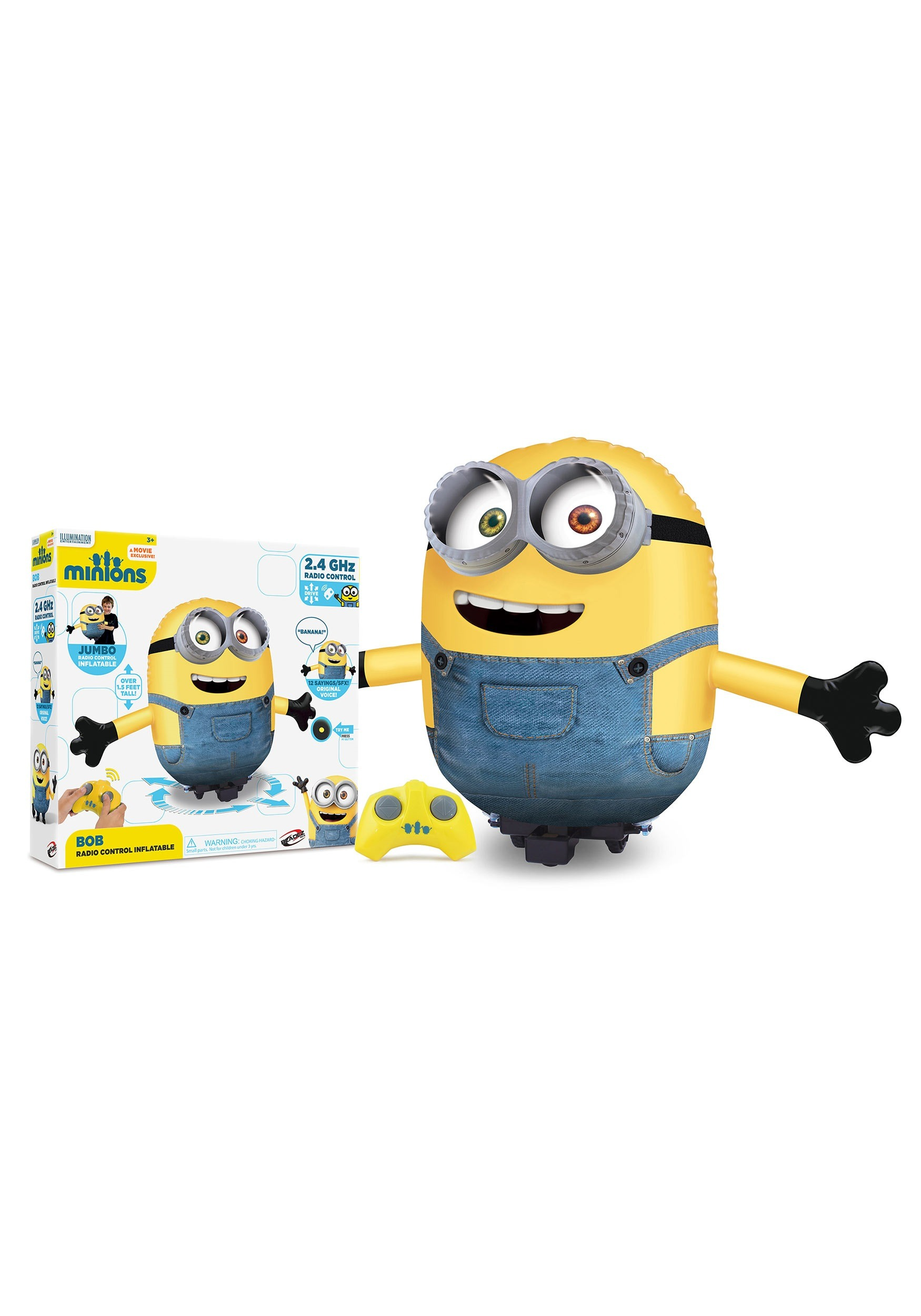 Minions Bob Inflatable Radio Controlled Figure