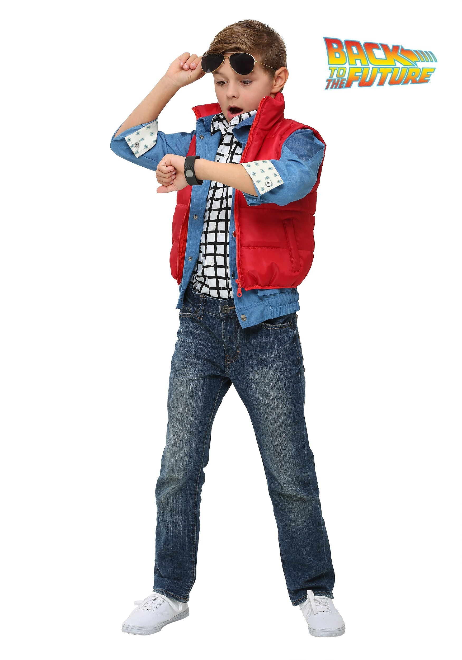 Back to the Future Child Marty McFly Costume BTF2241CH