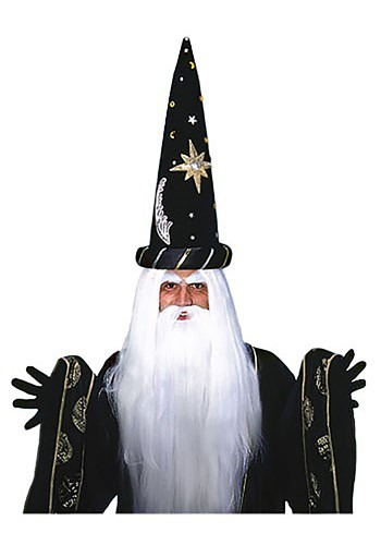 Adult Wizard Wig and Beard Set