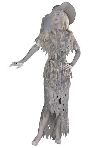Women's Spooky Ghost Costume Update Main