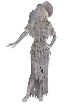 Women's Spooky Ghost Costume Update Main