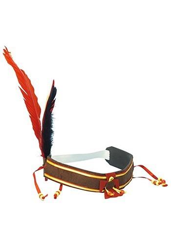 Native American Feather Headband