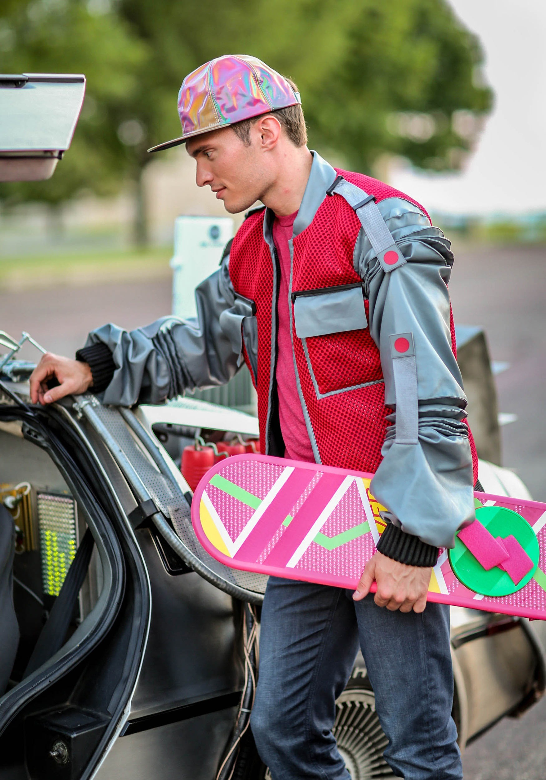 men 39 s authentic marty mcfly jacket costume from back to the future part 2. Black Bedroom Furniture Sets. Home Design Ideas
