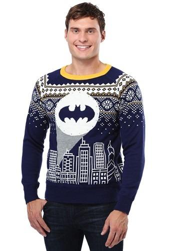Batman Bat Signal Ugly Christmas Sweater FUN9128