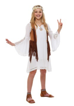 Kids Flower Child Costume
