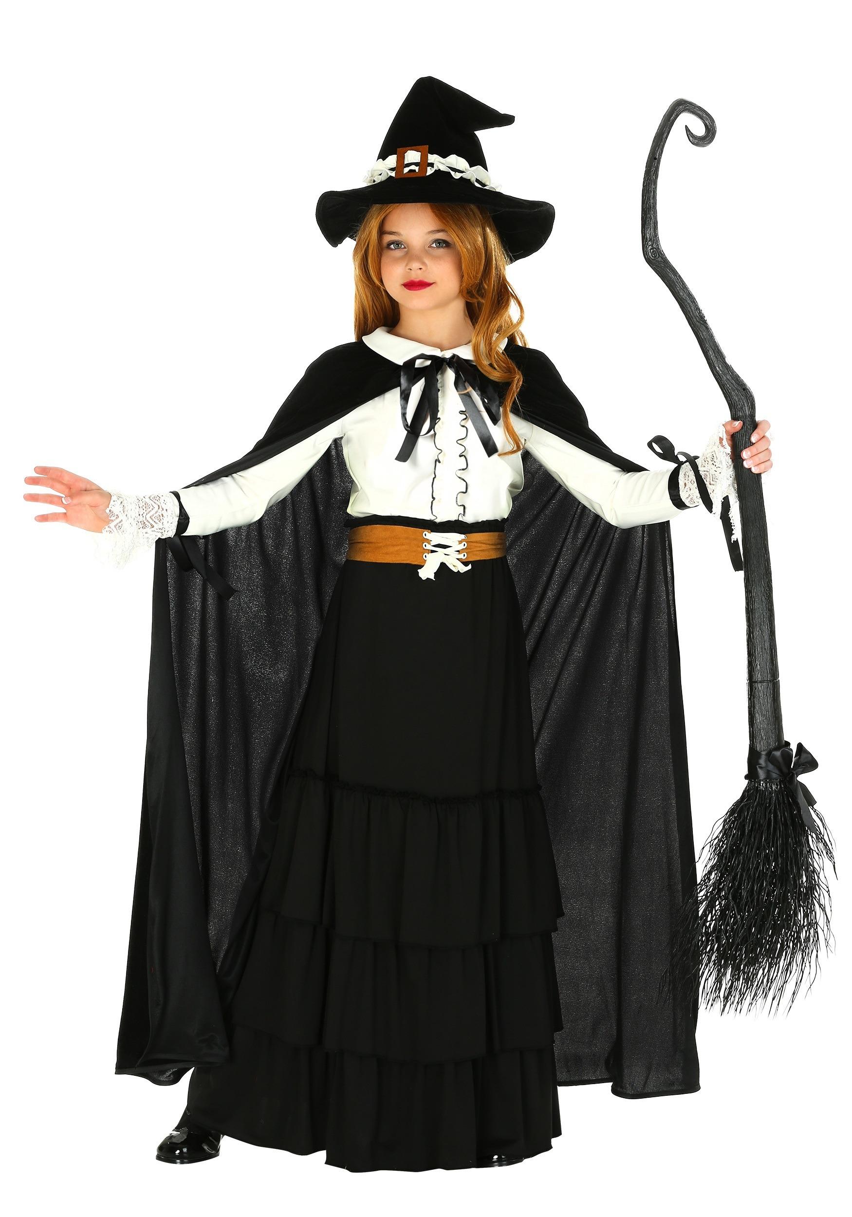a4bd0c50cfb Girls Salem Witch Costume