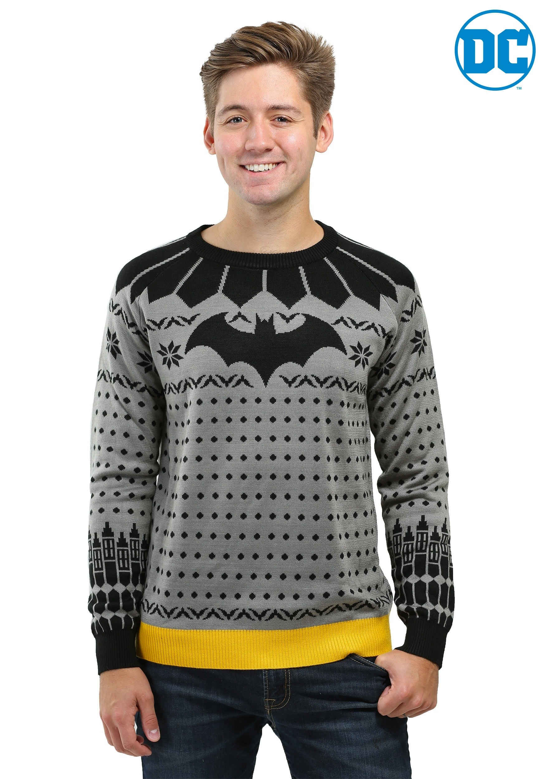 Batman Ugly Christmas Sweater 2020 Classic Batman Ugly Christmas Sweater