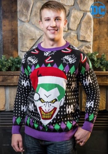 The Joker Ugly Christmas Sweater