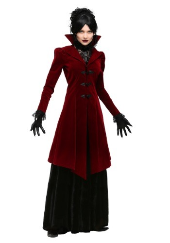 Women's Delightfully Dreadful Vampiress Plus Size Costume