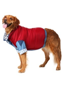 Marty McFly Dog Costume side view