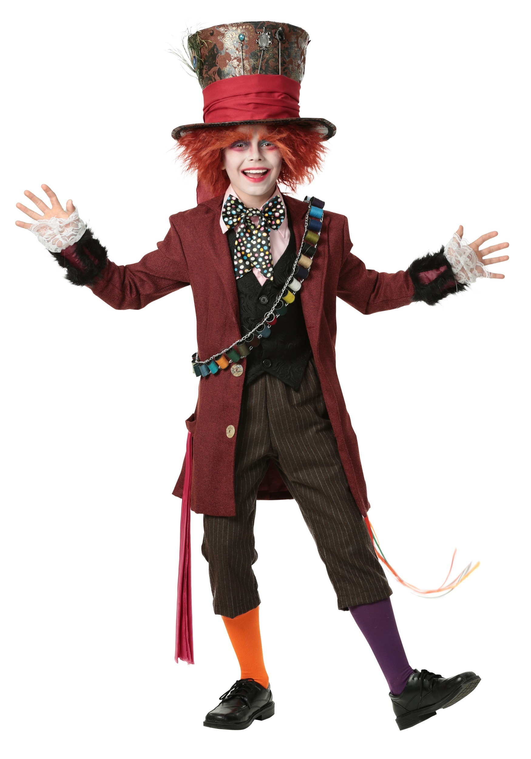 Child Authentic Mad Hatter Costume  sc 1 st  Fun.com & Authentic Mad Hatter Costume