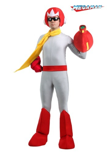 Men's Proto Man Costume from Mega Man