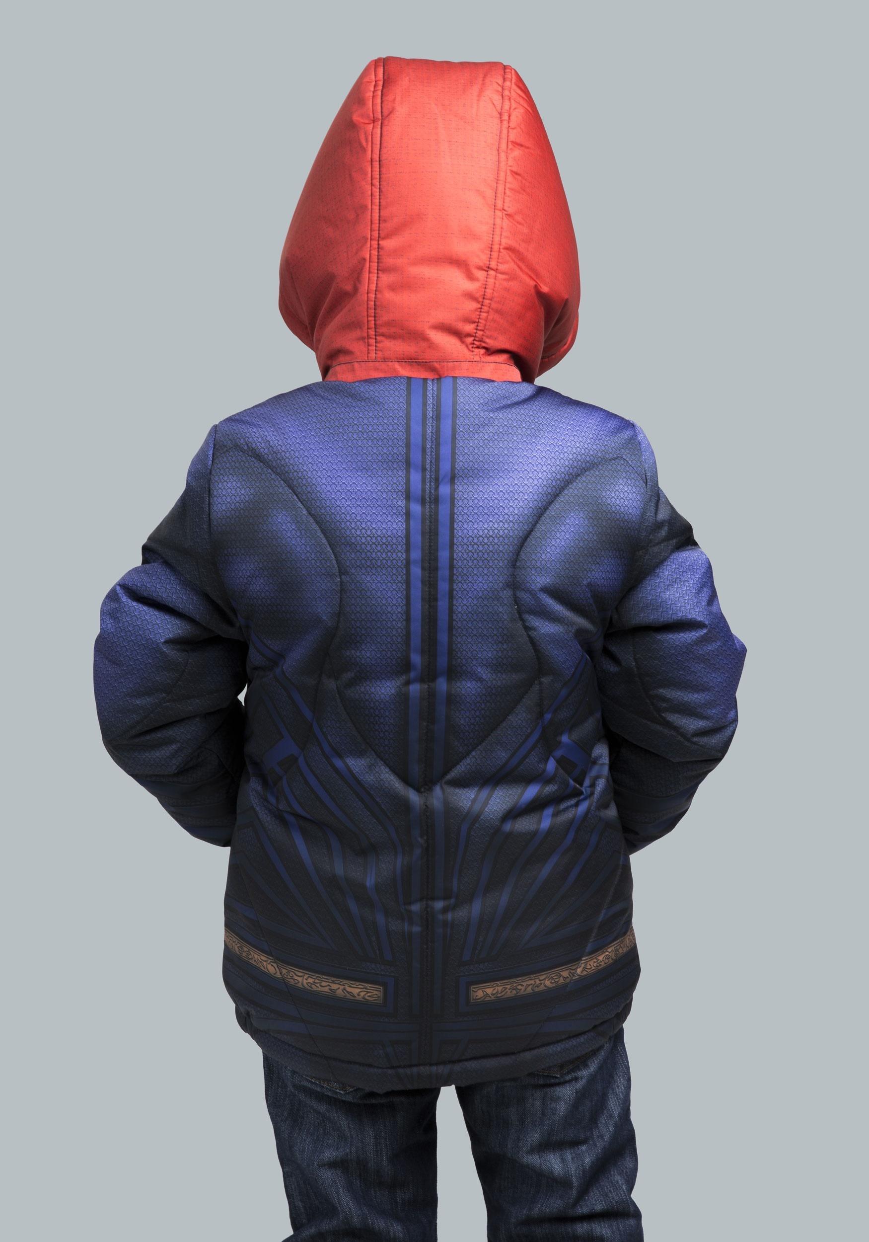 f1e8265ce Kids Superman Puffer Super Hero Jacket