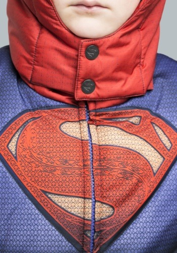 Kids Superman Puffer Jacket 5