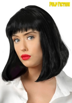 Adult Pulp Fiction Mia Wallace Wig