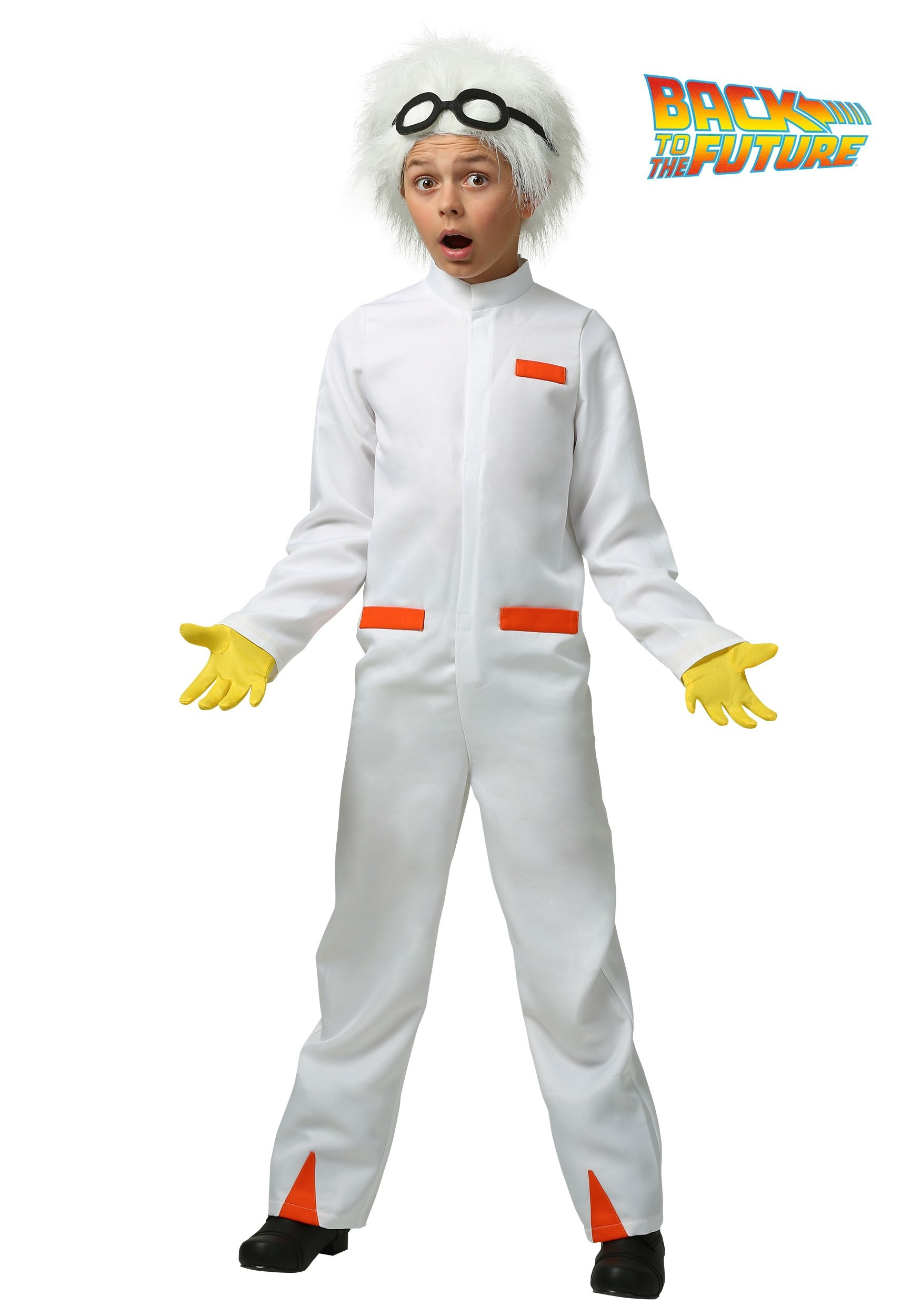 Childs Back to the Future Doc Brown Costume  sc 1 st  Fun.com & Kids Back to the Future Doc Brown Costume