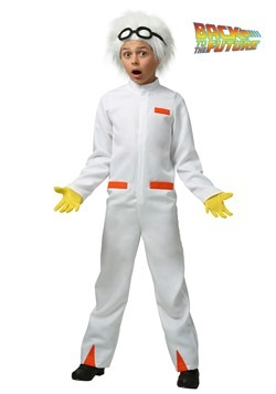 Childs Back to the Future Doc Brown Costume