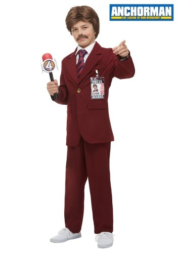 Anchorman Child Ron Burgundy Costume