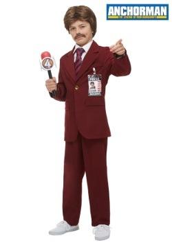 Anchorman Child Ron Burgundy Costume