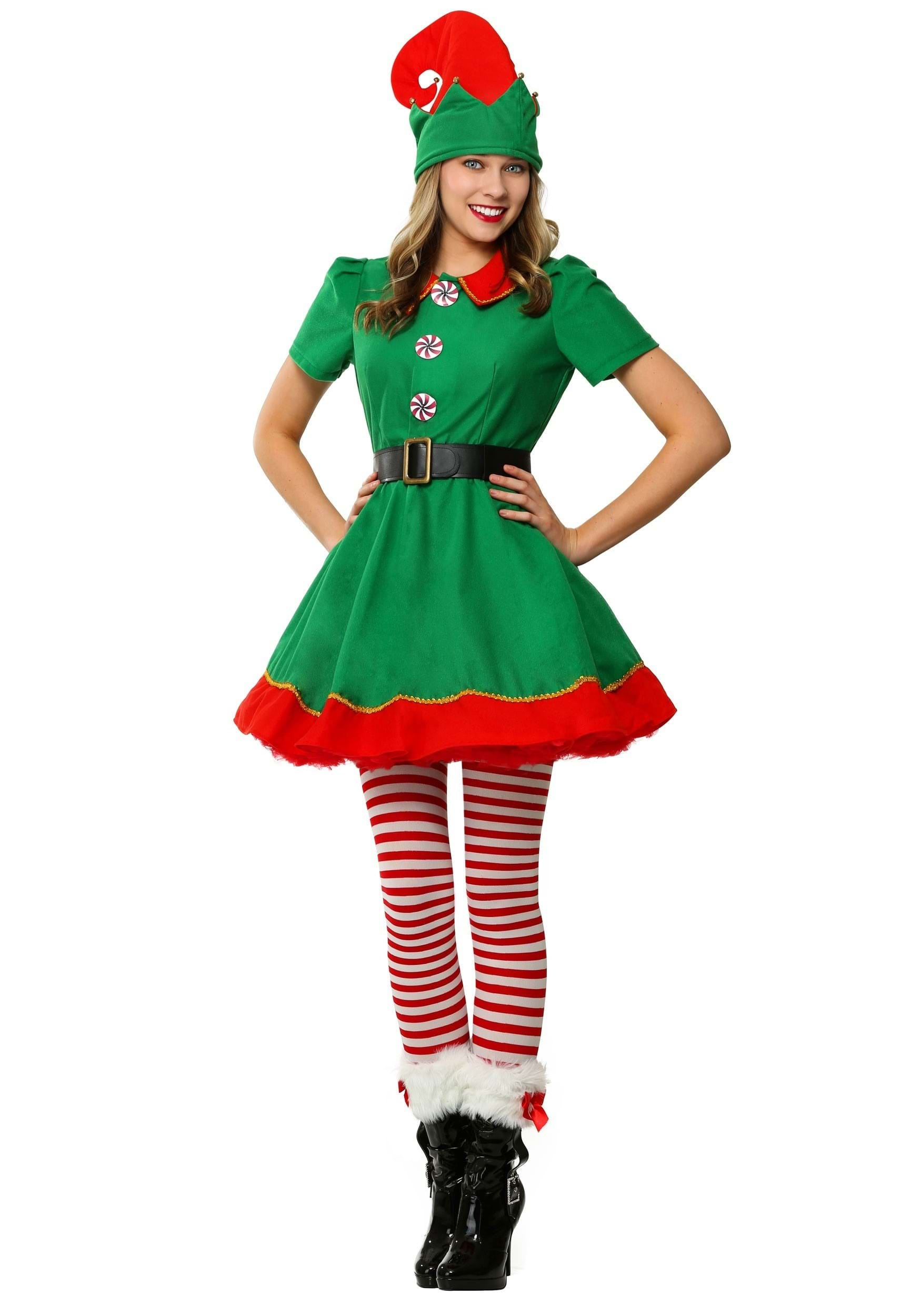 Holiday Elf Costume For Women