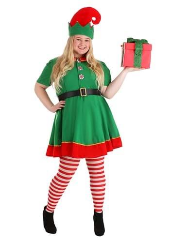 Holiday Elf Plus Size Costume