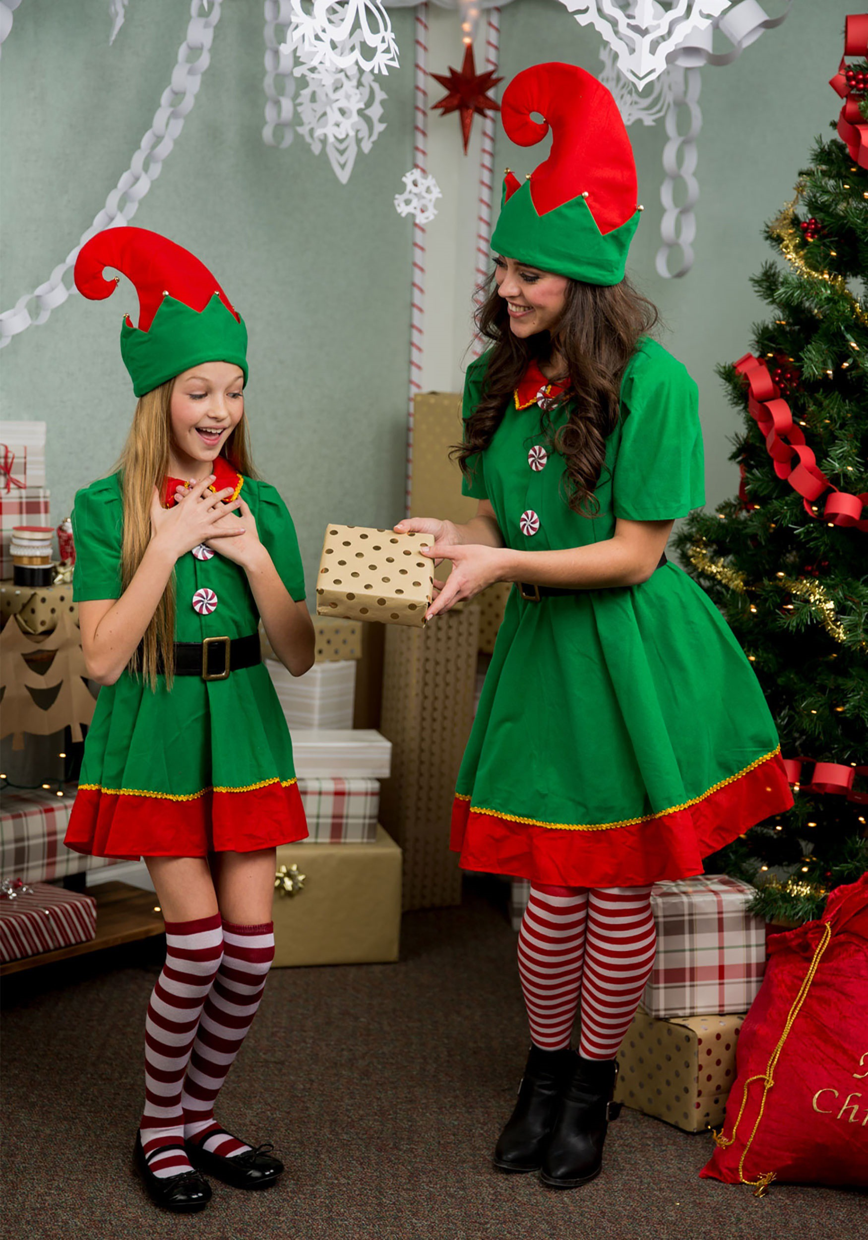Holiday Elf Costume for Plus Size