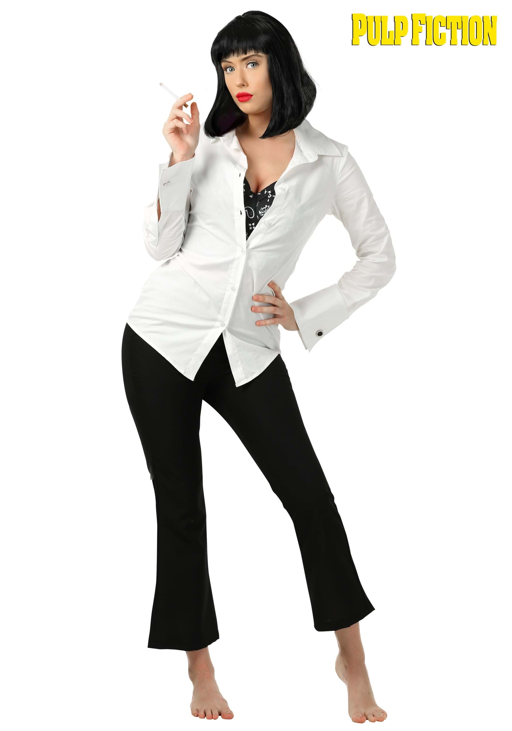 mia wallace pulp fiction adult costume. Black Bedroom Furniture Sets. Home Design Ideas