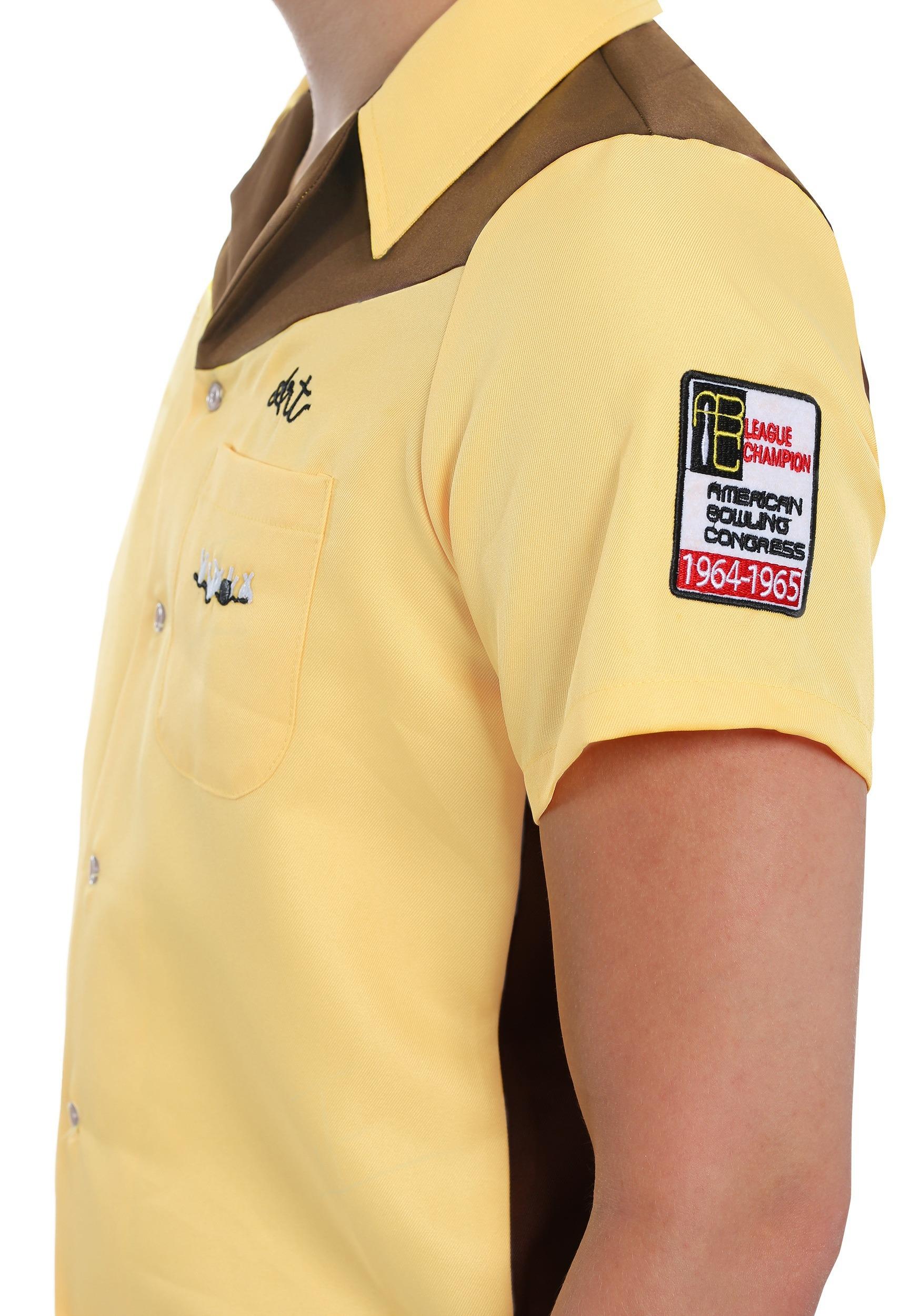 e5a011435 The Big Lebowski Plus Size Medina Sod Men's Costume Bowling Shirt