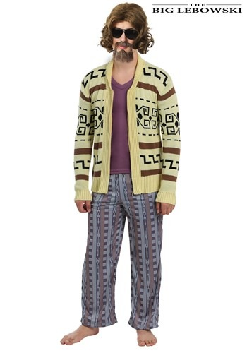 Big Lebowski The Dude Mens Plus Size Sweater Costume