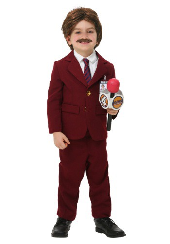 Anchorman Toddler Ron Burgundy Costume