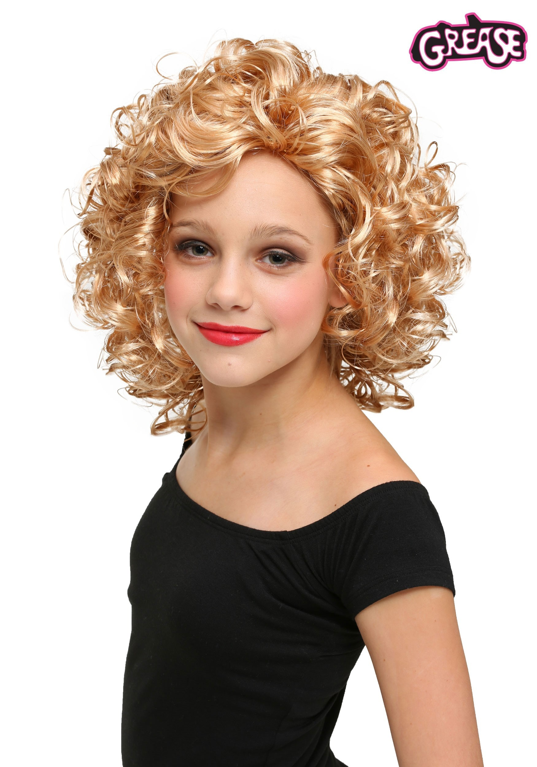 Child Bad Sandy Wig From Grease