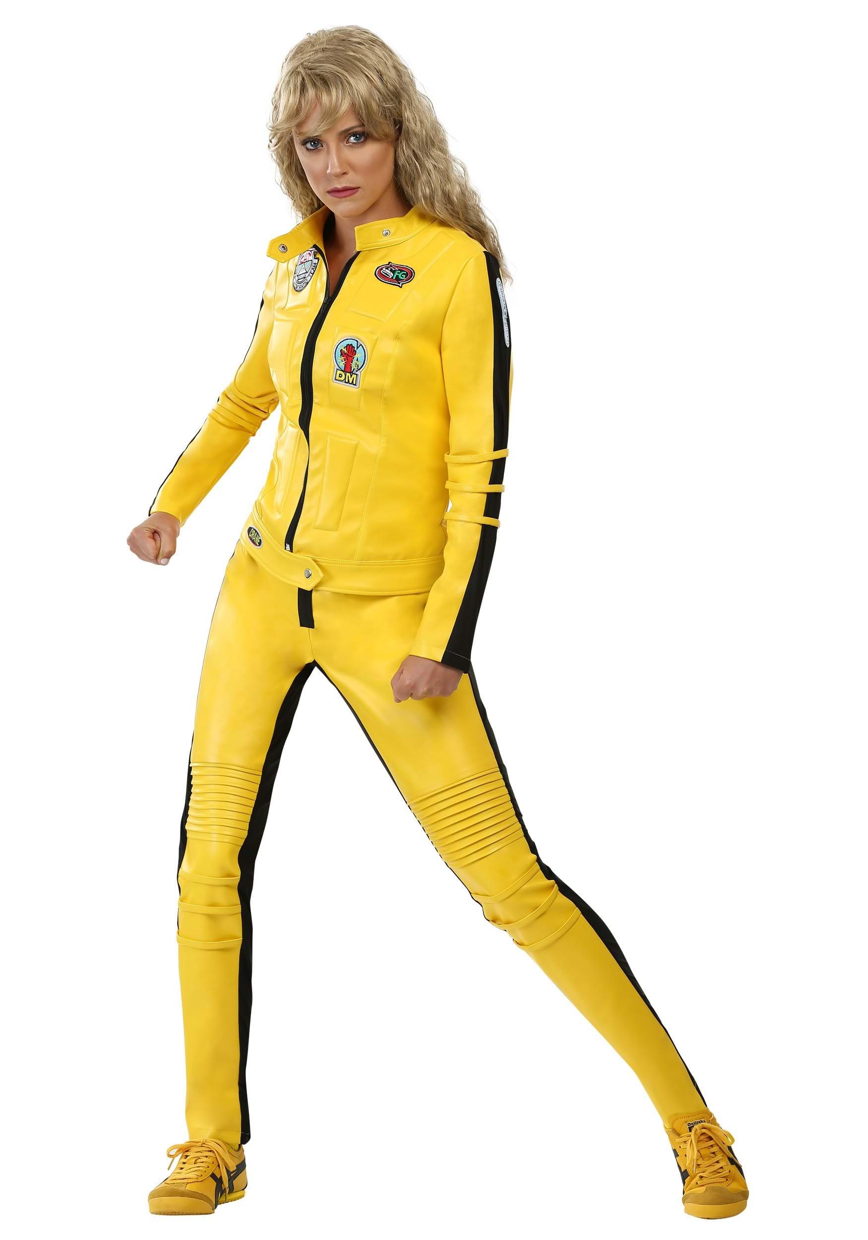Beatrix Kiddo Motorcycle Suit Costume FUN0206AD