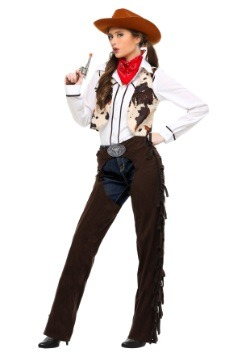 Cowgirl Plus Size Women's Costume