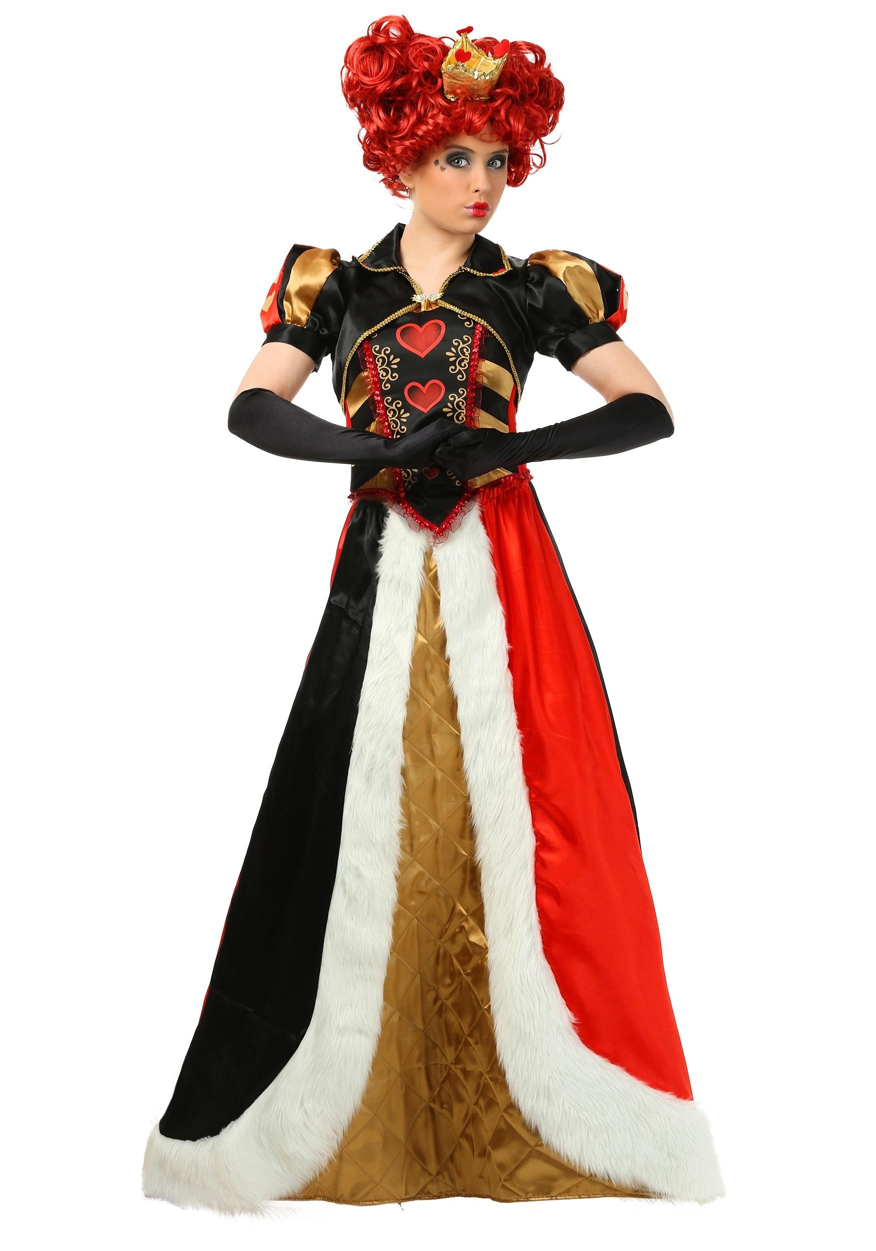 Women's Elite Queen of Hearts Costume