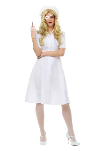 Kill Bill Elle Driver Nurse Costume for Women FUN0204AD-L