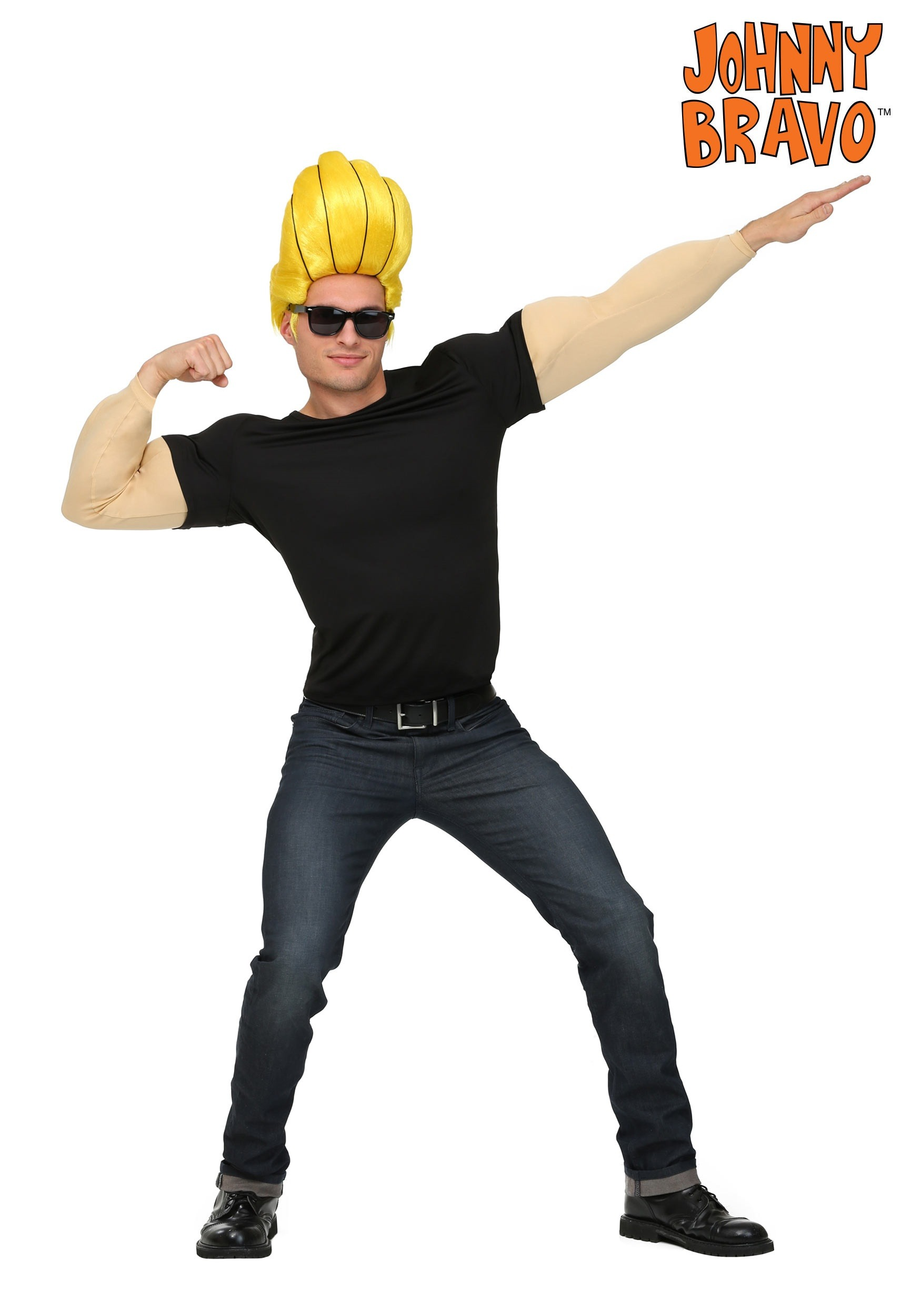 Johnny Bravo Costume for Men