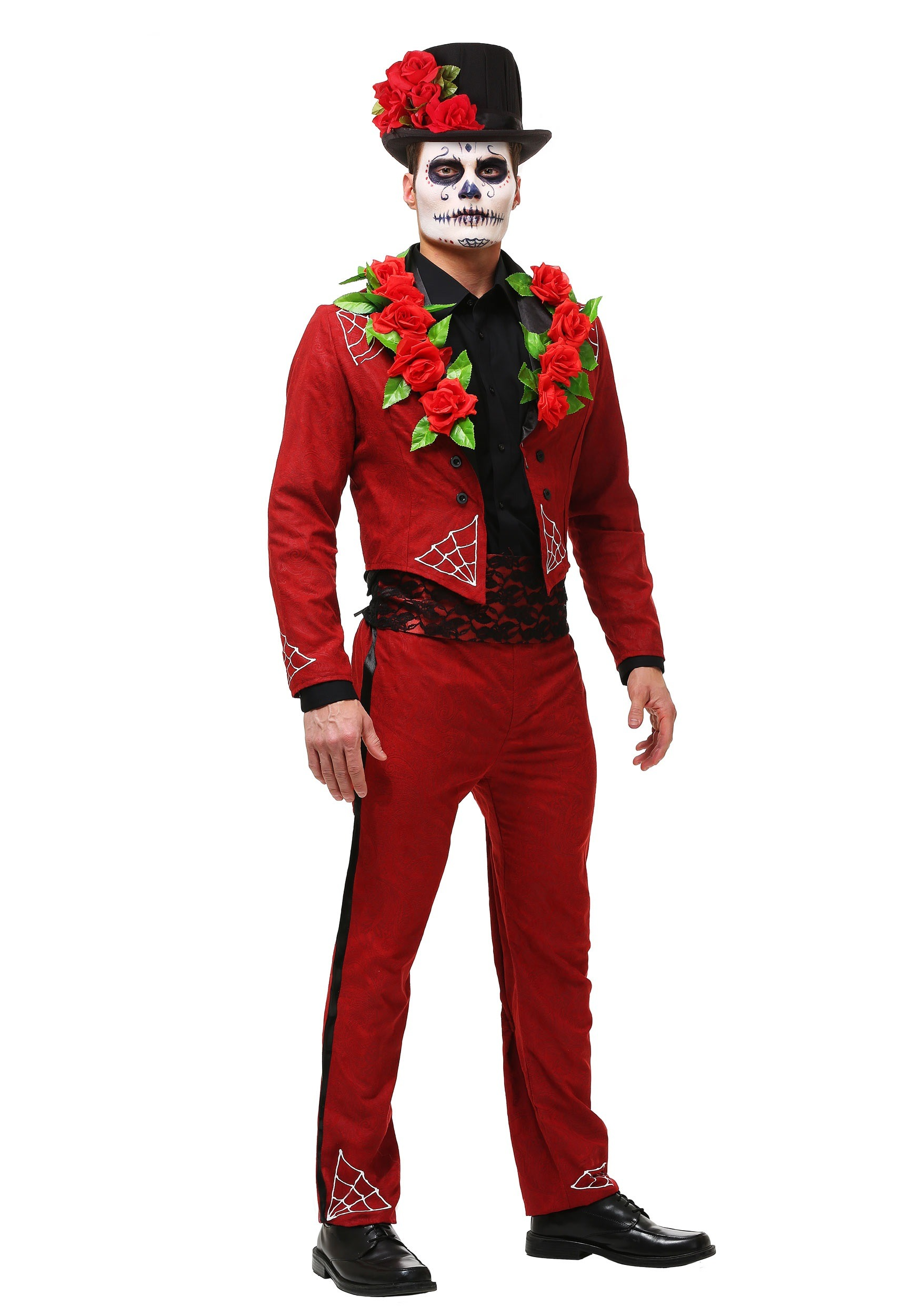 Day of the dead costume for men day of the dead mens costume solutioingenieria Image collections