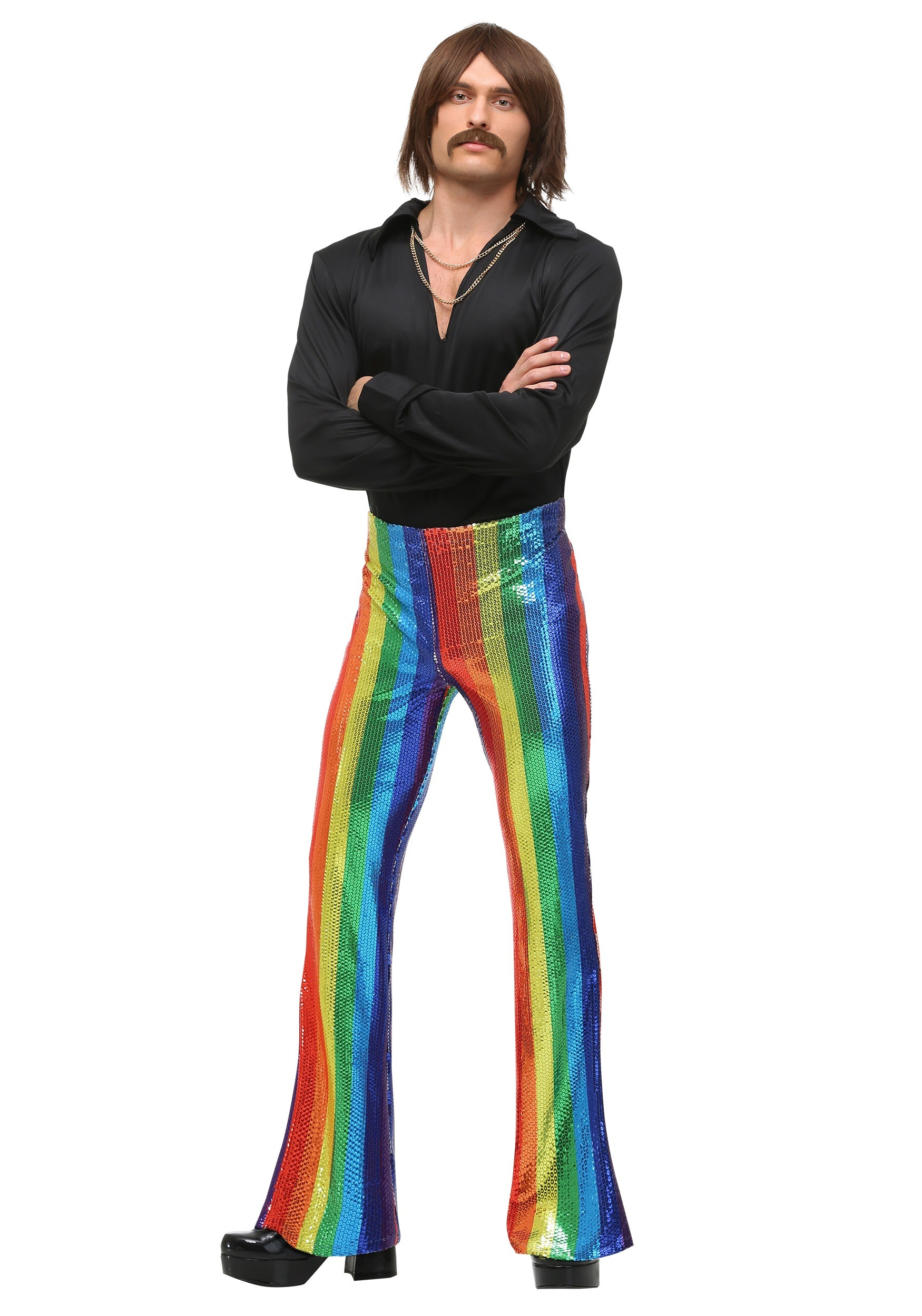 Mens Disco King Costume
