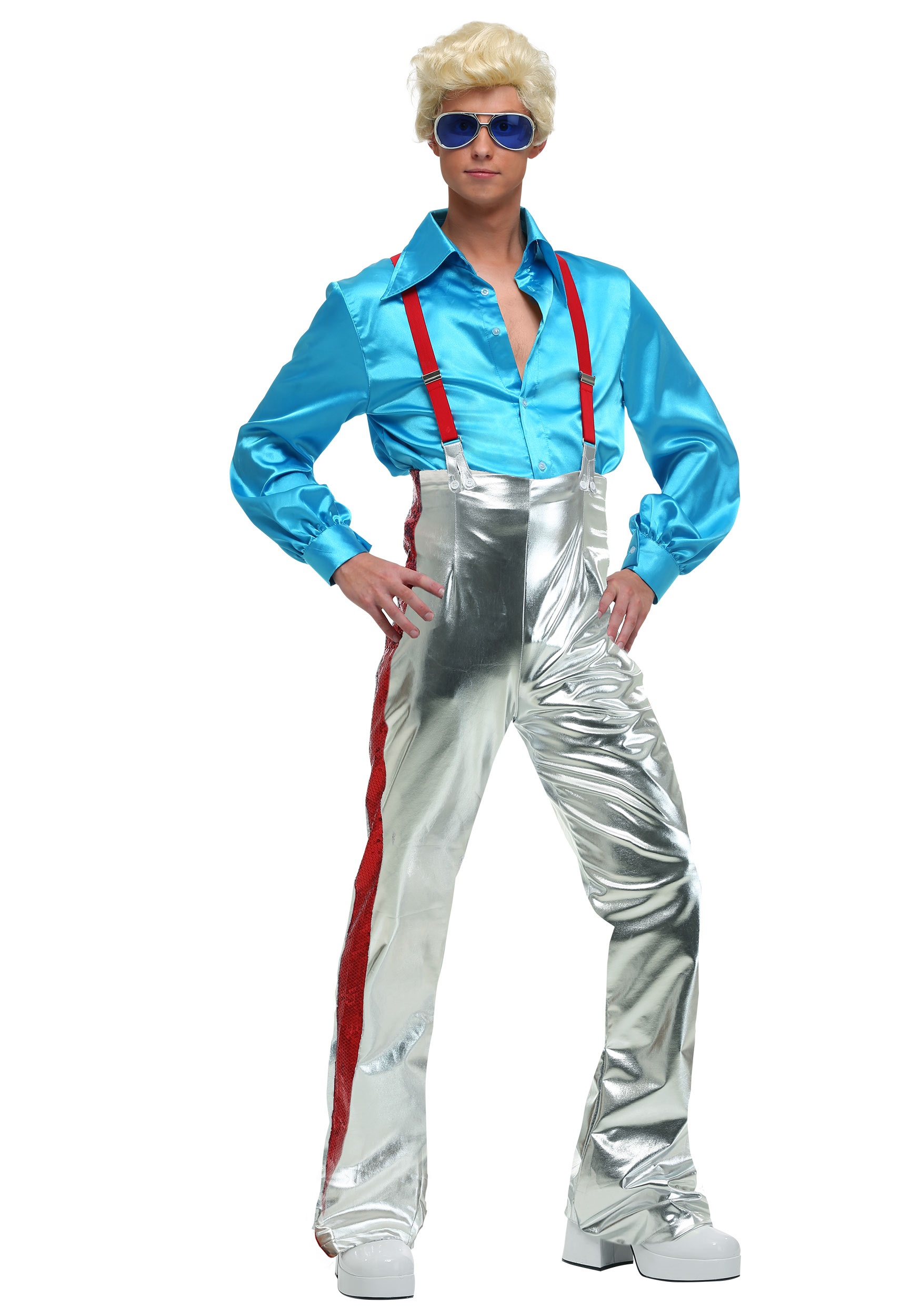 Mens funky disco costume alt4