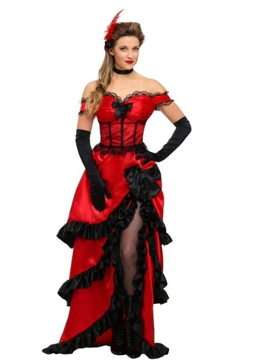 Women's Saloon Girl Costume