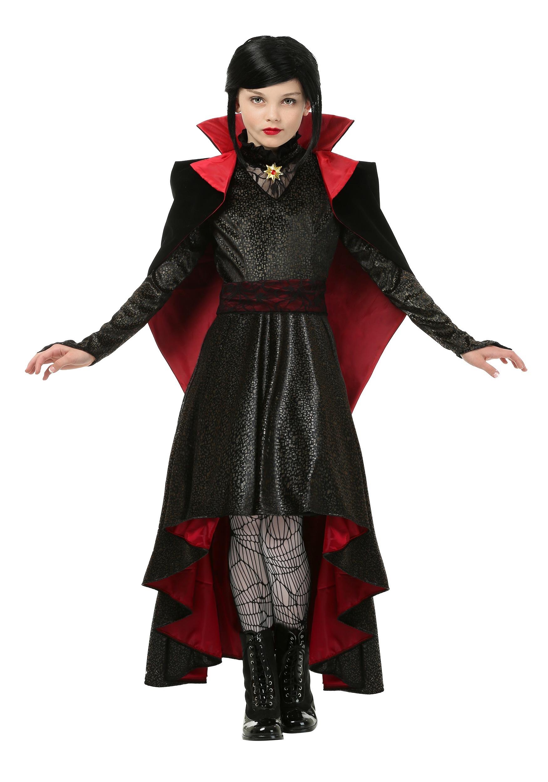 Girls V&ire Vixen Costume  sc 1 st  Fun.com & Vampire Vixen Costume