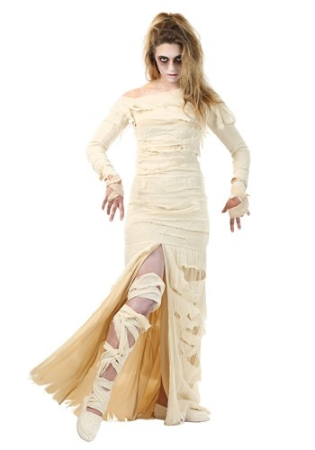 Full Length Mummy Women's Plus Size Costume