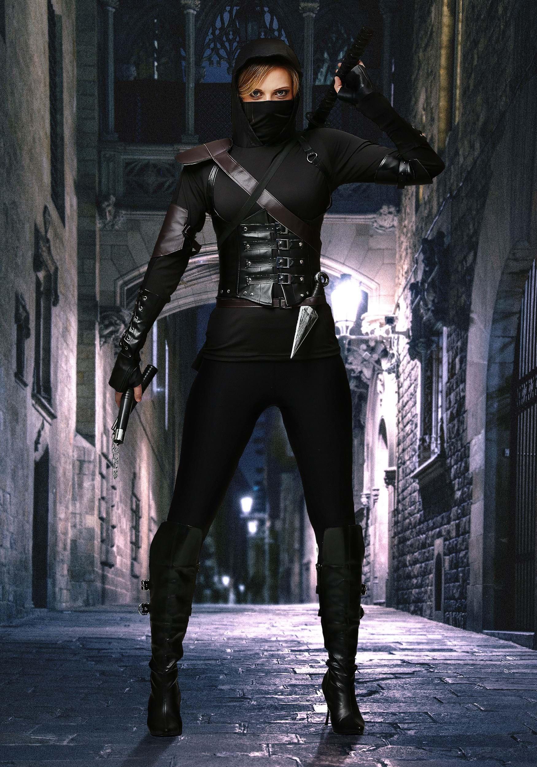 Stealth Ninja Womens Costume