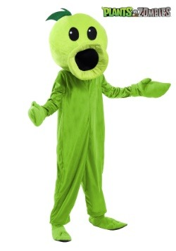 Plants Vs Zombies Kids Peashooter Costume1