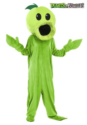 Plants Vs Zombies Peashooter Adult Costume1