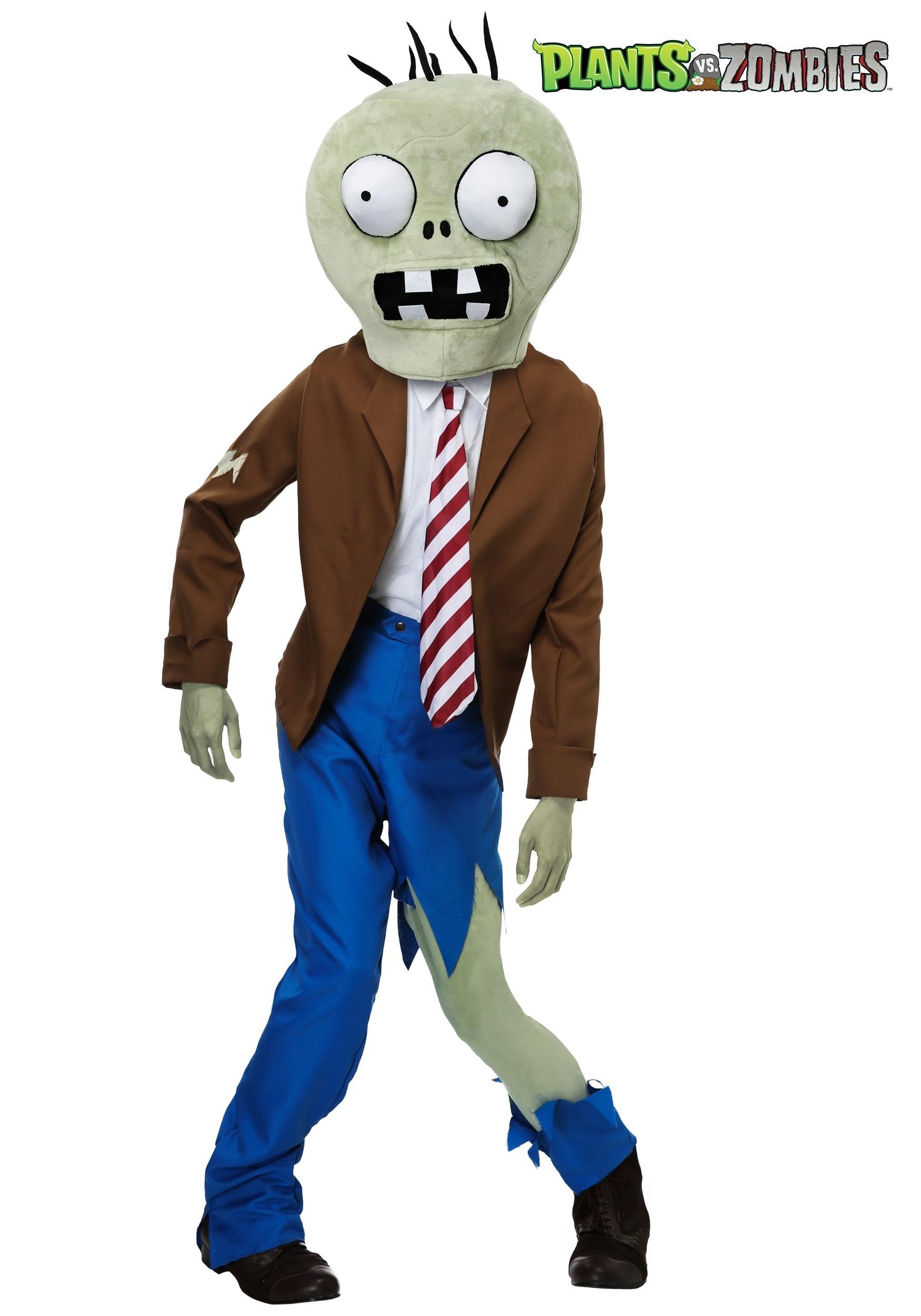 S Plants Vs Zombies Zombie Costume