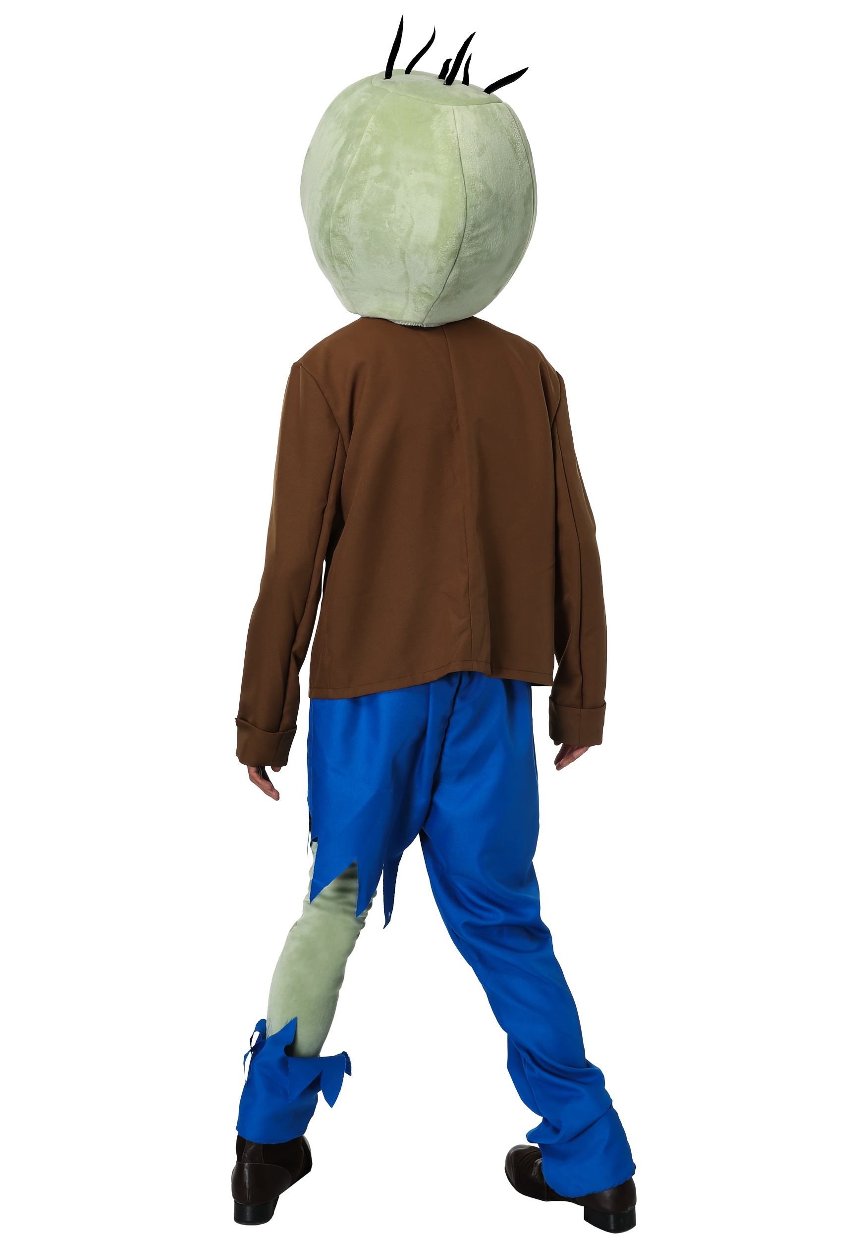 Adults PLANTS VS ZOMBIES Zombie Costume Alt2