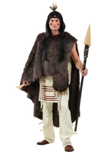 Deluxe Native Warrior Men's Costume