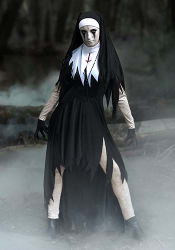 Dreadful Nun Women's Costume