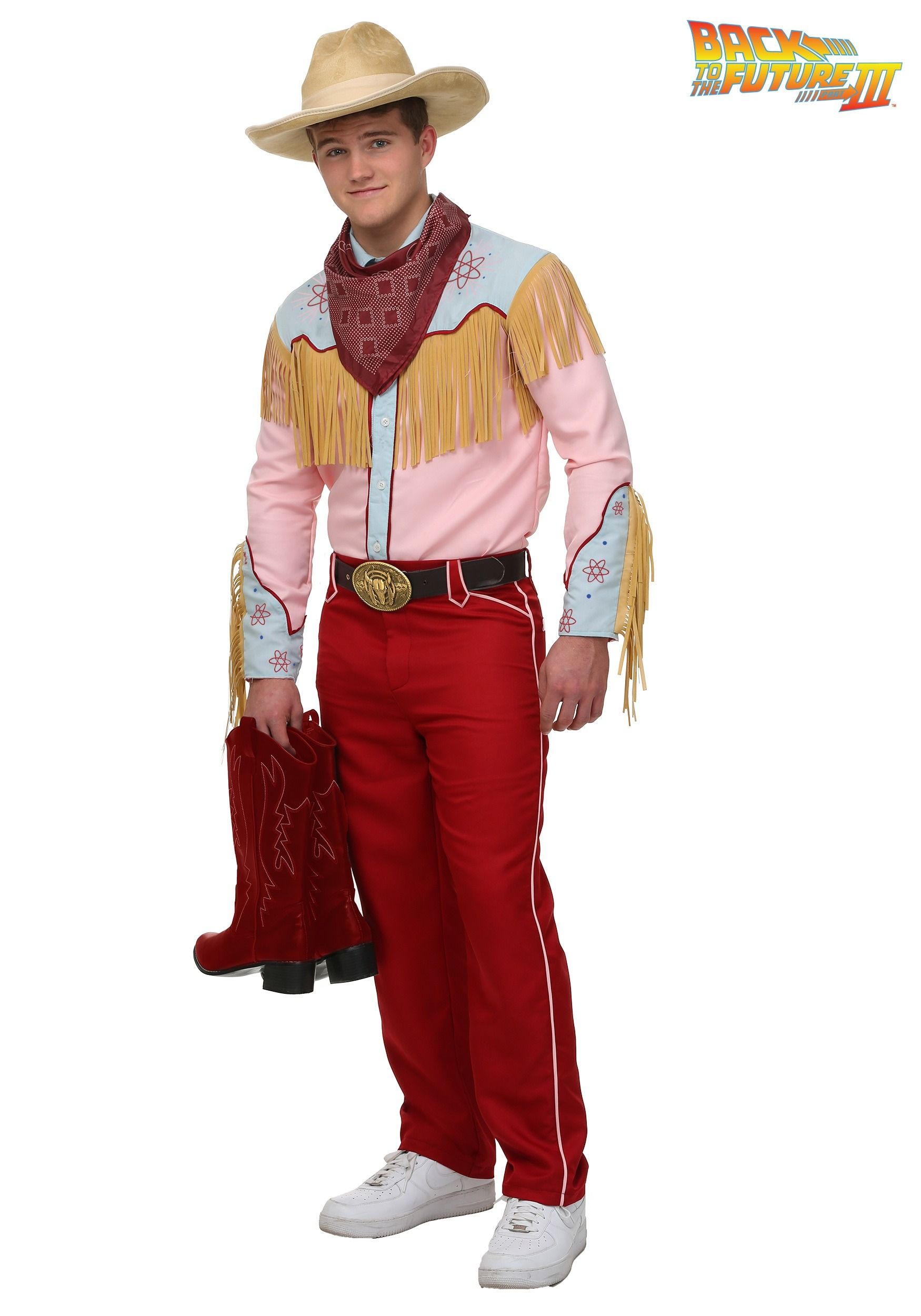 Back to the Future III Cowboy Marty Costume  sc 1 st  Fun.com : cowboy costume  - Germanpascual.Com